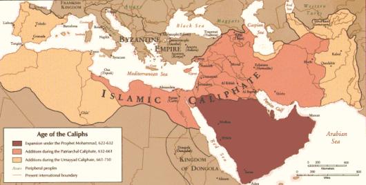 התפשטות האסלאם