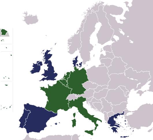 מפת הקהילה האירופאית - ויקיפדיה