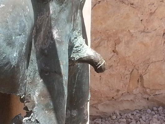 פסל בעין הוד. צילם: צביקה ארצי.